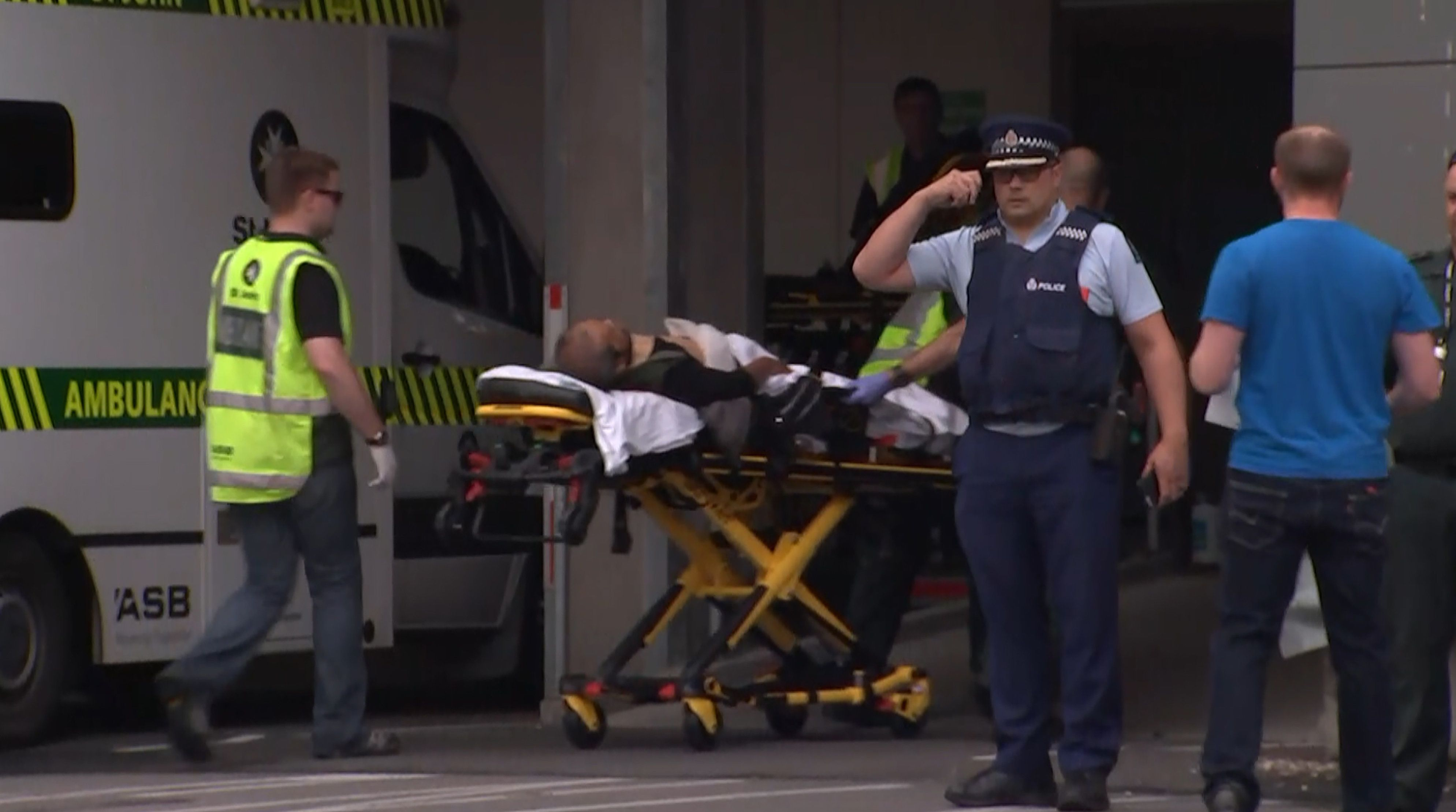 New Zealand Police Investigating Mass Shooting At 2 Mosques