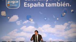 Interrumpen el mitin de Rajoy:
