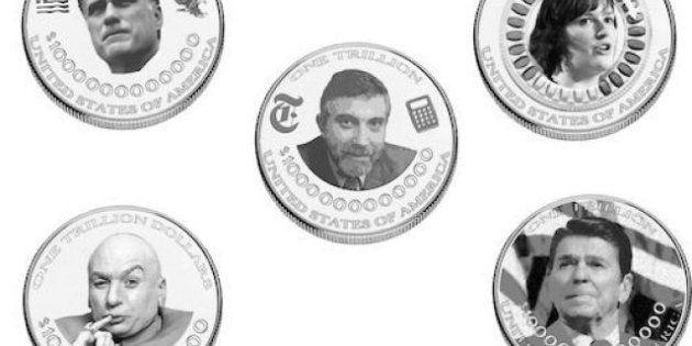 La moneda de platino para salvar a EEUU, una idiotez