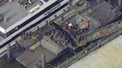 Decenas de heridos tras el choque de un ferry en NY