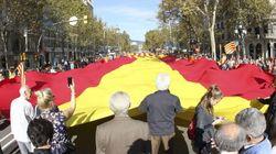 Miles de personas defienden en Barcelona una Cataluña dentro de