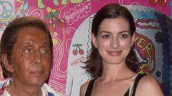 Anne Hathaway y Valentino, estrellas de la fiesta Flower Power de