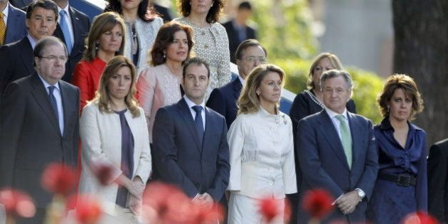 Siete presidentes autonómicos no asisten al desfile de la Fiesta