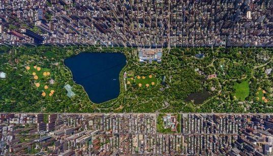 Central Park como nunca visto
