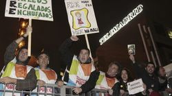 Trabajadores de Telemadrid ocupan su sede e inician un encierro