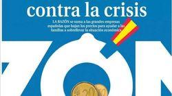 La portada de 'La Razón' vuelve a encender a Twitter