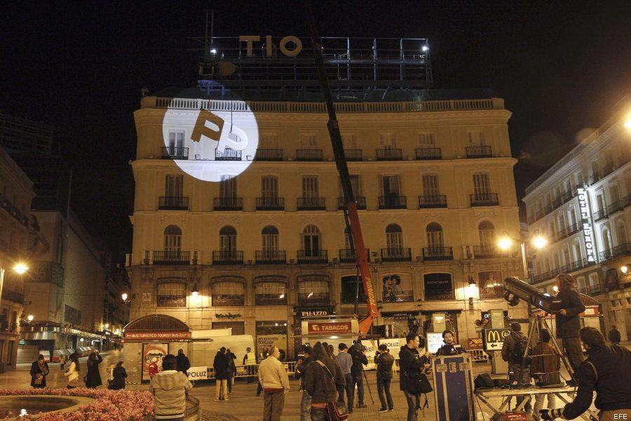El cartel de Tío Pepe vuelve a la Puerta del Sol