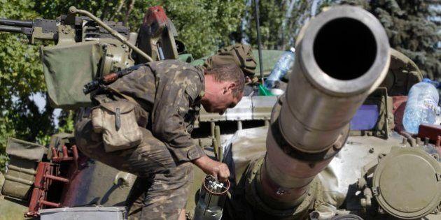 Kiev y los separatistas acuerdan un alto el fuego en el este de