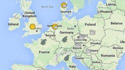 Estos son los países donde se avecinan tormentas tras el