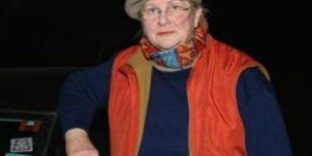Sabine Moreau, la belga de 67 años que condujo desde su casa hasta Zagreb por