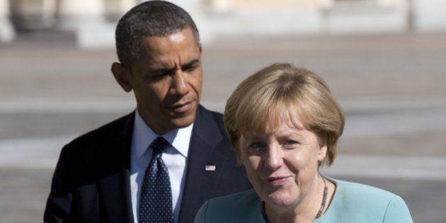 Obama y Merkel llaman al diálogo entre Ucrania y