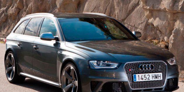 Audi RS4, 450 caballos con carrocería