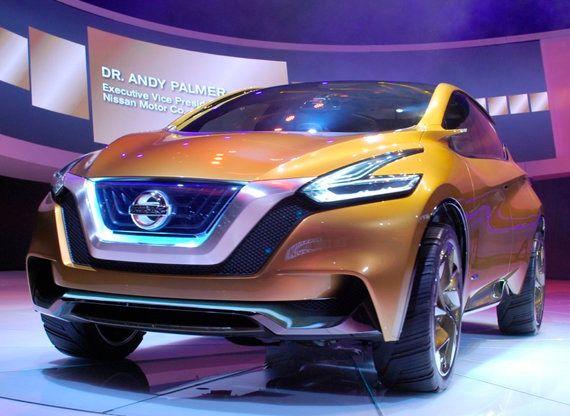Nissan muestra la estética del próximo Murano en