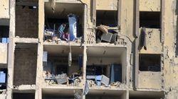 Masacre en la universidad de Alepo
