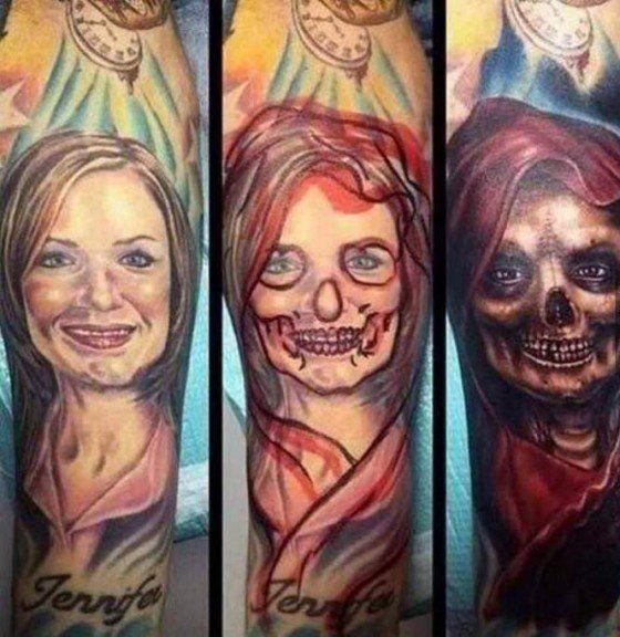 10 formas ridículas de disimular el tatuaje en honor a tu 'ex'