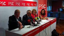 Dimiten diez miembros del PSC en Girona que apoyan el derecho a