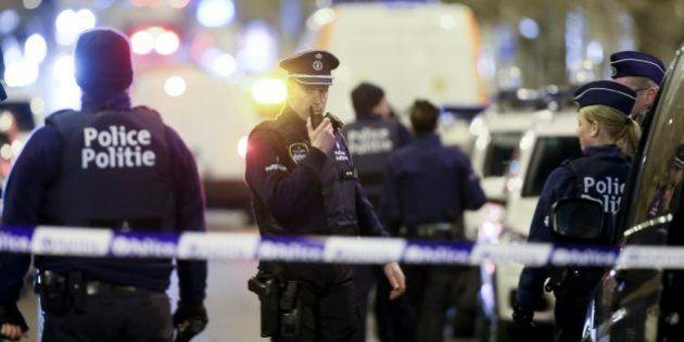La Policía belga corta varias calles en Bruselas en diversas