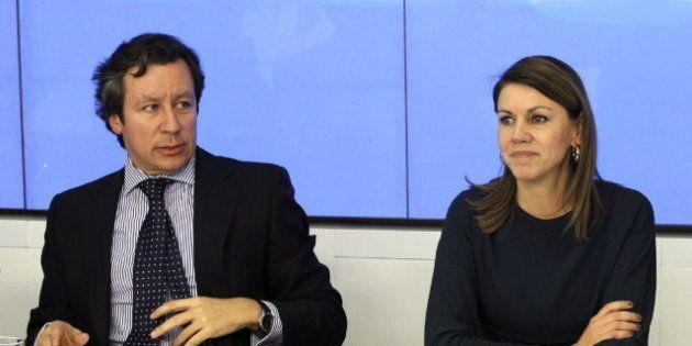 Carlos Floriano, vicesecretario del PP, sobre las cuentas de Bárcenas en Suiza: