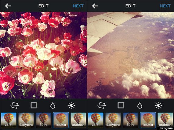 Análisis de los filtros de Instagram: cuándo y dónde