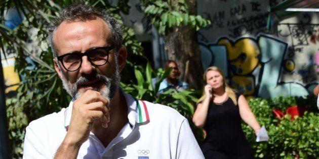 Massimo Bottura, el chef del mejor restaurante del mundo, cocina en los Juegos para los