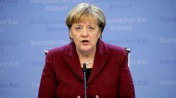 Merkel muestra sus dolor ante los muertos y heridos en el mercadillo