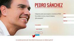 Pedro Sánchez ha vuelto: crea una web y... se le