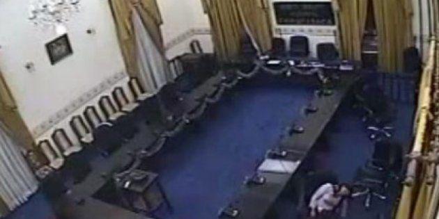 Las cámaras graban cómo un diputado viola a una mujer en Chuquisaca