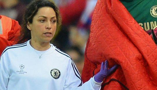 La doctora del Chelsea genera furor en las redes