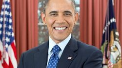 Obama, sonriente y lleno de canas en nuevo retrato