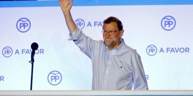 Rajoy reclama el derecho del PP a gobernar: