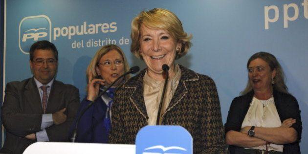 El incidente y la fuga de Esperanza Aguirre se resolverán con un juicio de
