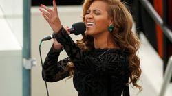 Beyoncé lo da todo cantando el himno de EEUU (VÍDEO,