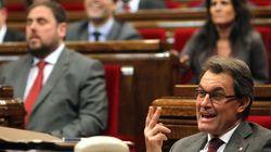 El Parlament de Cataluña aprueba la declaración de