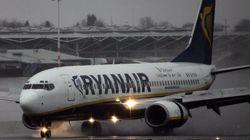 Aterrizaje de emergencia de Ryanair procedente de