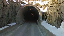 Un tapón de queso ardiente bloquea un túnel en Noruega durante una