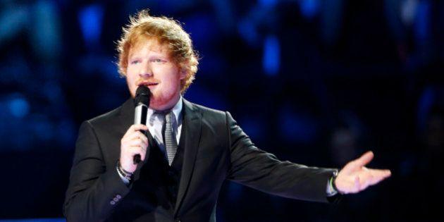 'Thinking Out Loud' de Ed Sheeran, acusada de plagiar 'Let's get it on' de Marvin