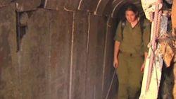 Así es el túnel hallado entre Gaza e Israel