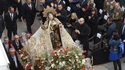 Así se emociona Fernández Díaz con Santa Teresa (FOTOS,