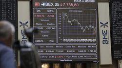 El Ibex 35 amplía las pérdidas al 1,5% a media sesión y cede los 7.700