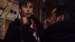 La lección viral de este niño a futbolistas y