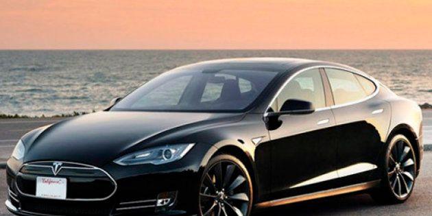 Probamos el Tesla Model S, eléctrico y con 483 kilómetros de