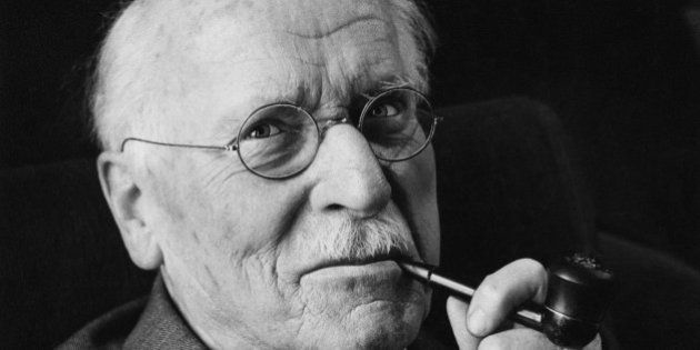 Swiss psychiatrist Carl Gustav Jung (1875 ? 1961), the founder of analytical psychology, 1960. (Photo...