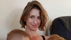 Esto es lo que pasa cuando cuelgo la foto de una madre dando el pecho al hijo de una