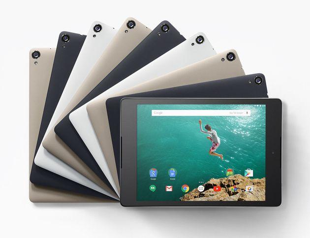 Google presenta los Nexus 6 y Nexus 9, su nueva gama de smartphones y
