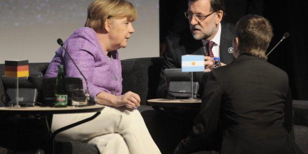 Rajoy tras reunirse con la canciller alemana: