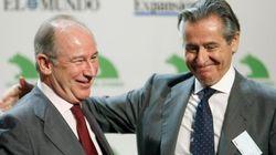 Rato, Blesa y Sánchez Barcoj declaran ante el juez por las tarjetas