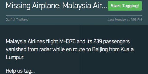 Malaysia Airlines 370: Un ejército de voluntarios busca el avión en imágenes por
