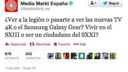 Media Markt la lía en Twitter con la Legión... y Pons se indigna