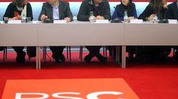 El PSC multa a los cinco diputados que no votaron contra el texto