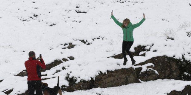 ¡Se acerca el invierno! Las primeras nieves tiñen de blanco el norte peninsular